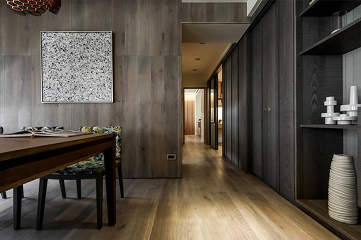 [HOME] PJ Design 인더스트리얼 주방 by KD Panels 인더스트리얼 우드 우드 그레인