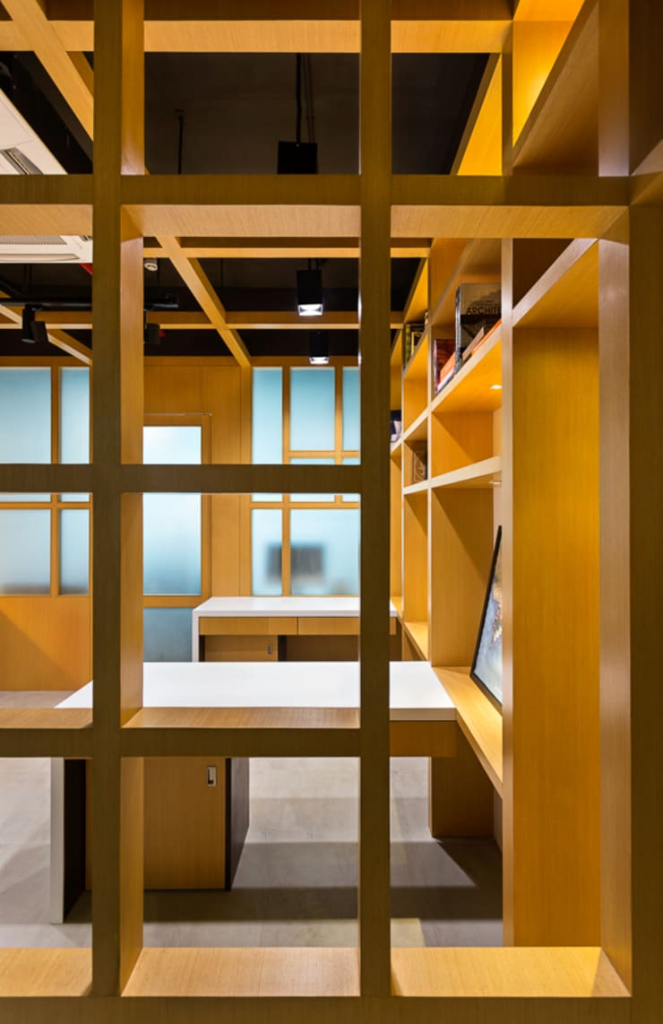 Project_Booleaned:  Commercial Spaces by Boolean Design Studio,Modern