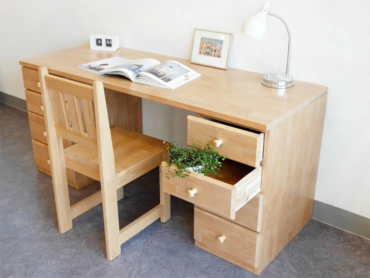 HF-817 책상: 나무모아의  서재/사무실