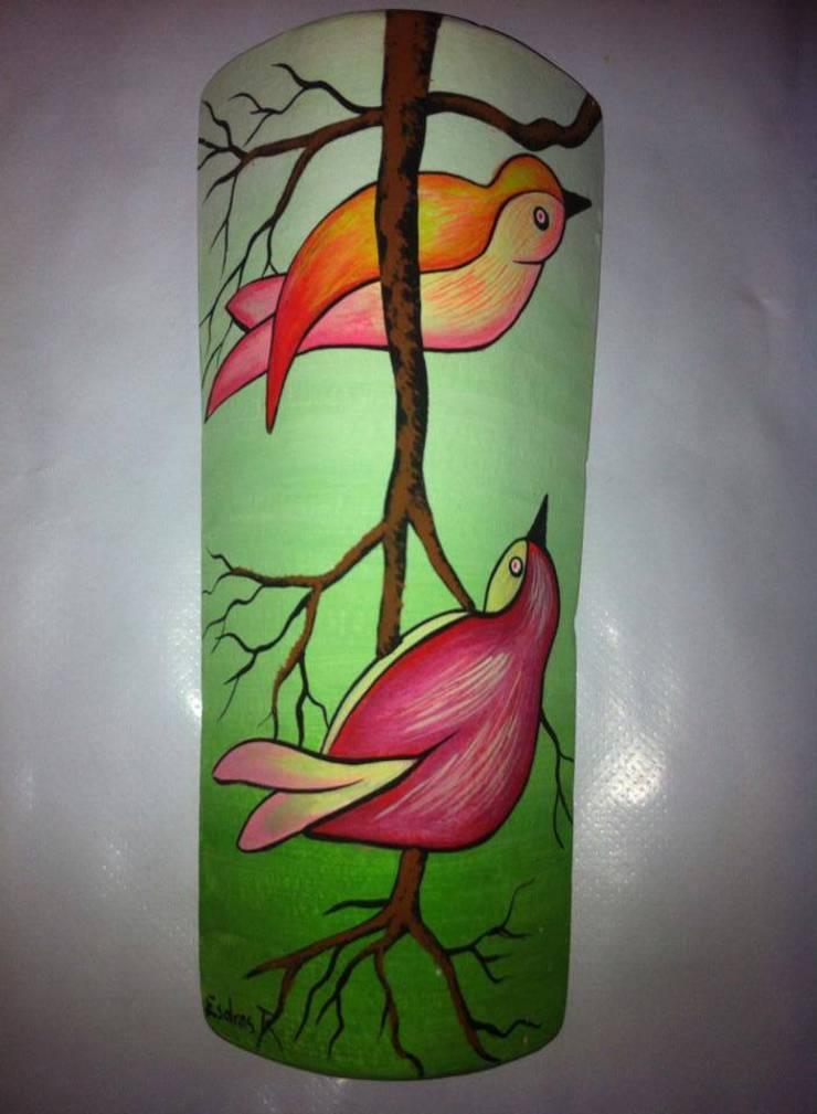 Motivos en Tejas: Arte de estilo  por El Rincon del Artesano