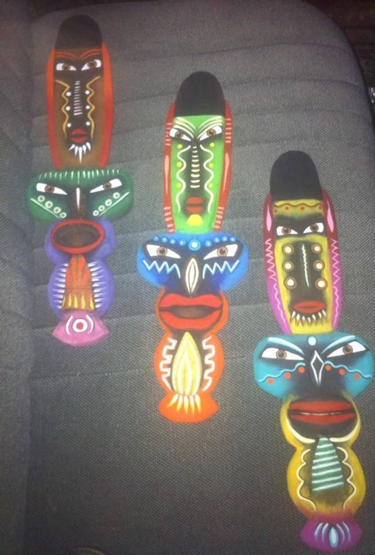 Máscaras: Arte de estilo  por El Rincon del Artesano