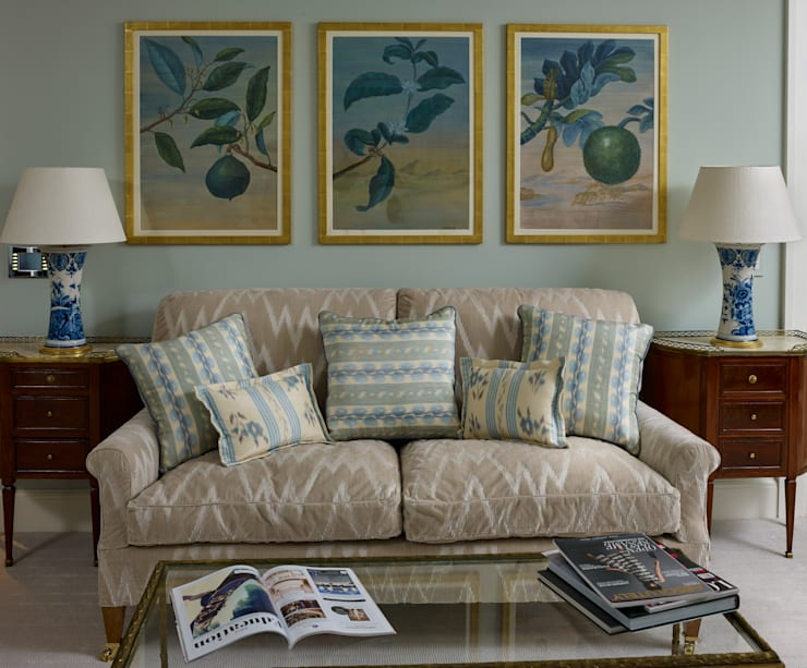 Master Bedroom : classic  by Jane Churchill Interiors, Classic