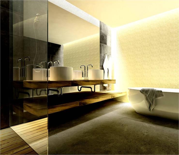 Remodelação de Instalação Sanitária: Casas de banho modernas por By N&B Interior Design