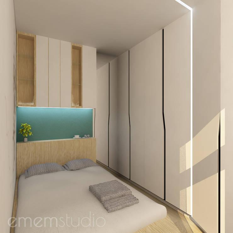Scandinavian style bedroom by EMEMSTUDIO Scandinavian
