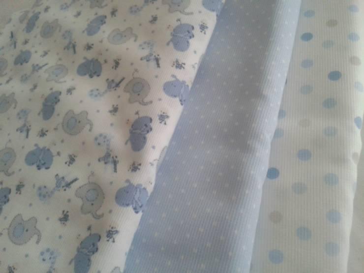 Textiles para dormitorios infantiles: Dormitorios infantiles  de estilo  por NBe DECO,