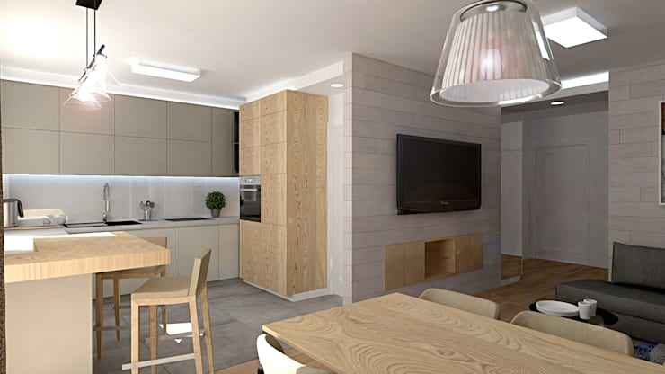 Kitchen by EMEMSTUDIO , Modern