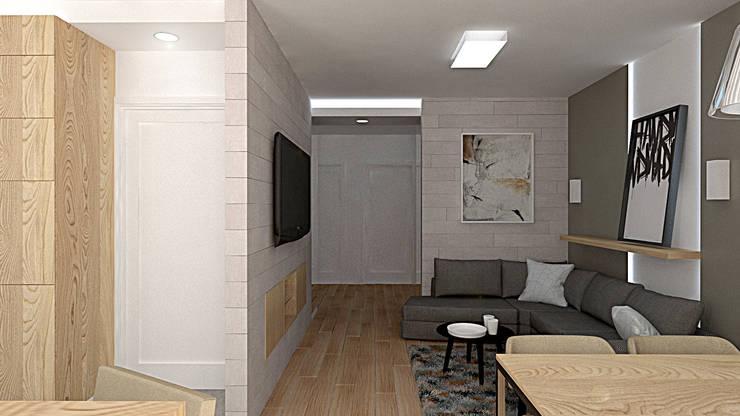 Living room by EMEMSTUDIO , Modern