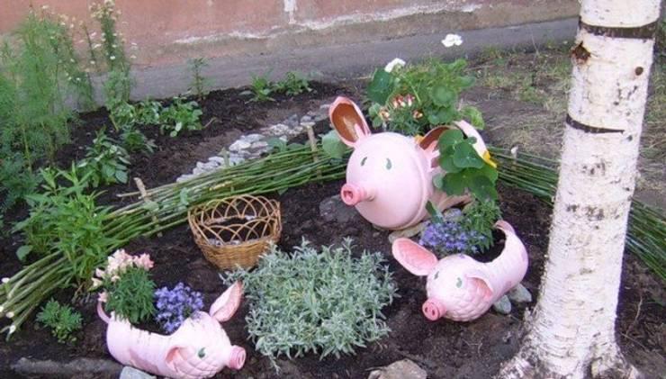 Garden Handcrafts: Jardines de estilo  por Rosa Olague