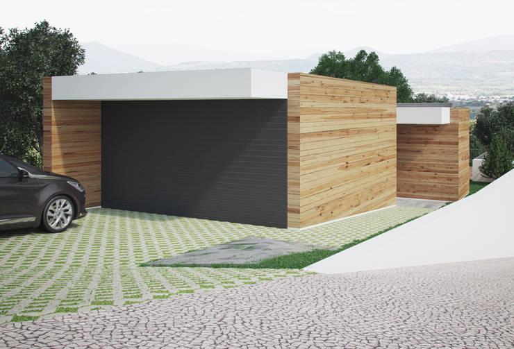moderne Huizen door ASVS Arquitectos Associados