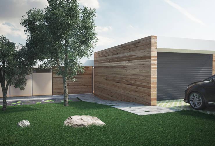 Casa Eiriz, Paços de Ferreira: Casas  por ASVS Arquitectos Associados