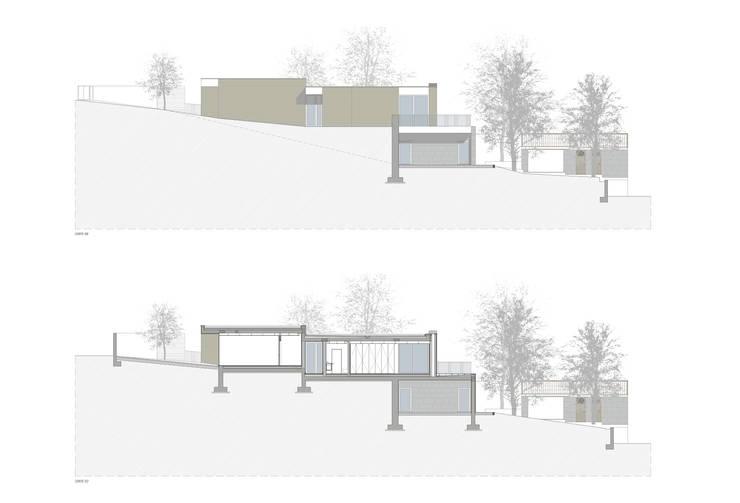 Casa Eiriz, Paços de Ferreira:   por ASVS Arquitectos Associados