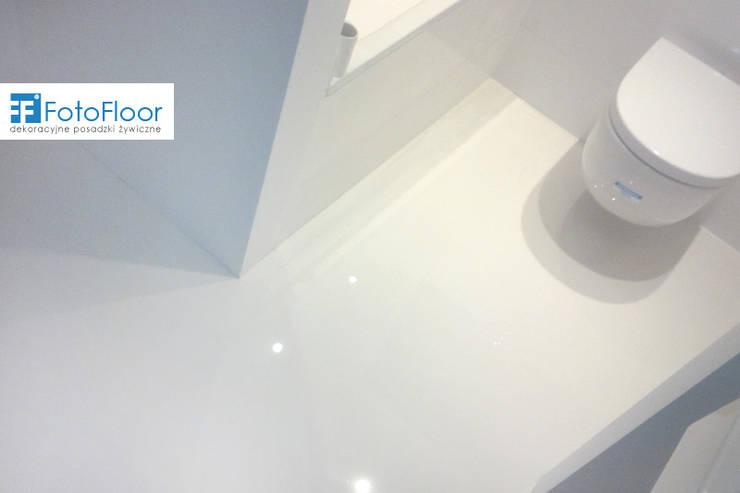Modernistyczne Posadzka żywiczna w łazience, profesjonalista: FotoFloor | homify GJ16