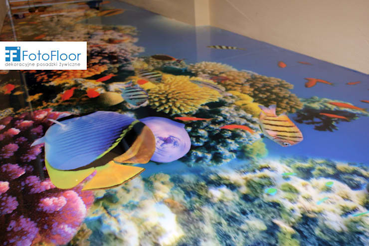 Podłoga 3D w przzedszkolu: styl , w kategorii Szkoły zaprojektowany przez FotoFloor,Nowoczesny