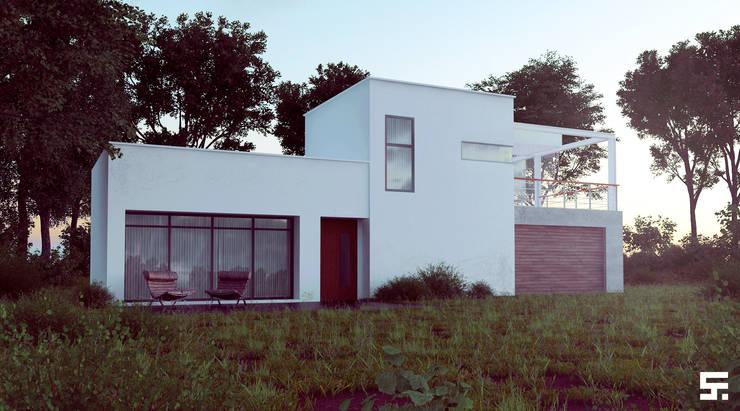 Houses by SF Render, Modern
