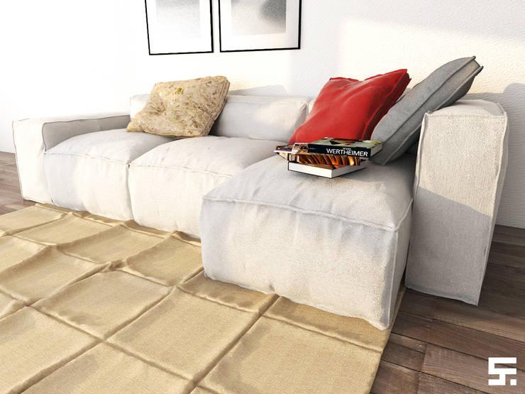 Living room by SF Render, Modern