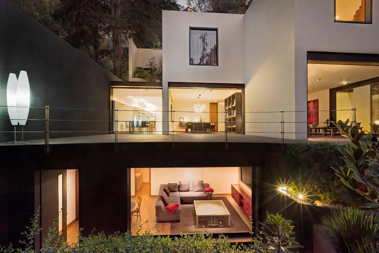 Casa JRQZ : Terrazas de estilo  por Lopez Duplan Arquitectos