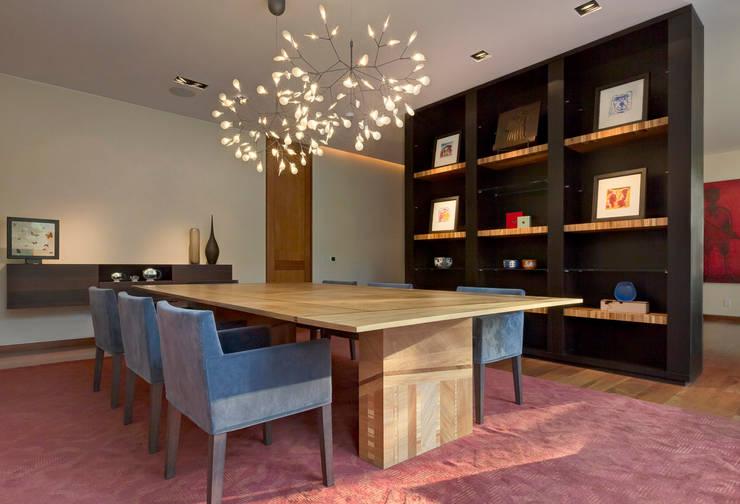 Casa JRQZ : Comedores de estilo  por Lopez Duplan Arquitectos