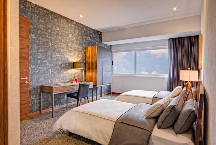 Dormitorios de estilo  por Lopez Duplan Arquitectos