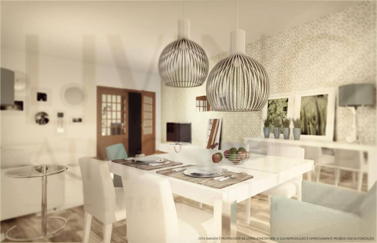Sala de Estar: Salas de estar  por Living Atmosphere