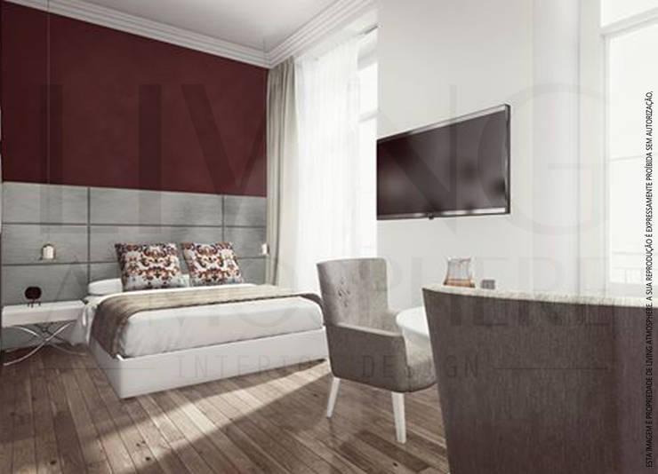 Quarto de Hotel 1: Quartos  por Living Atmosphere