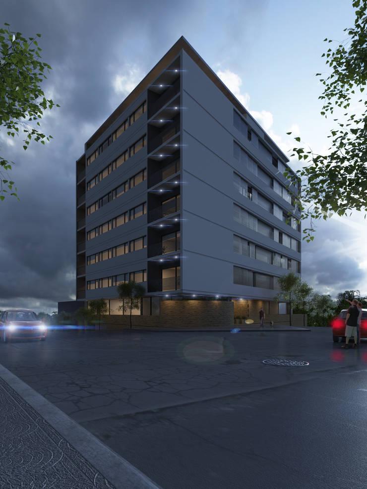 Edificio Chrestia: Casas de estilo  por D+D Studio,