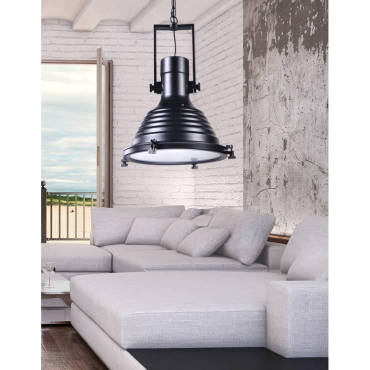 Lampa BOTTI: styl , w kategorii  zaprojektowany przez Lumina DECO,Industrialny Matal