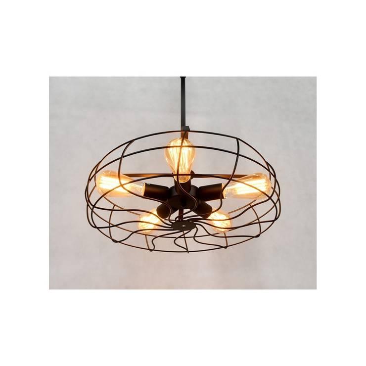 Lampa NINO: styl , w kategorii  zaprojektowany przez Lumina DECO,Industrialny Matal