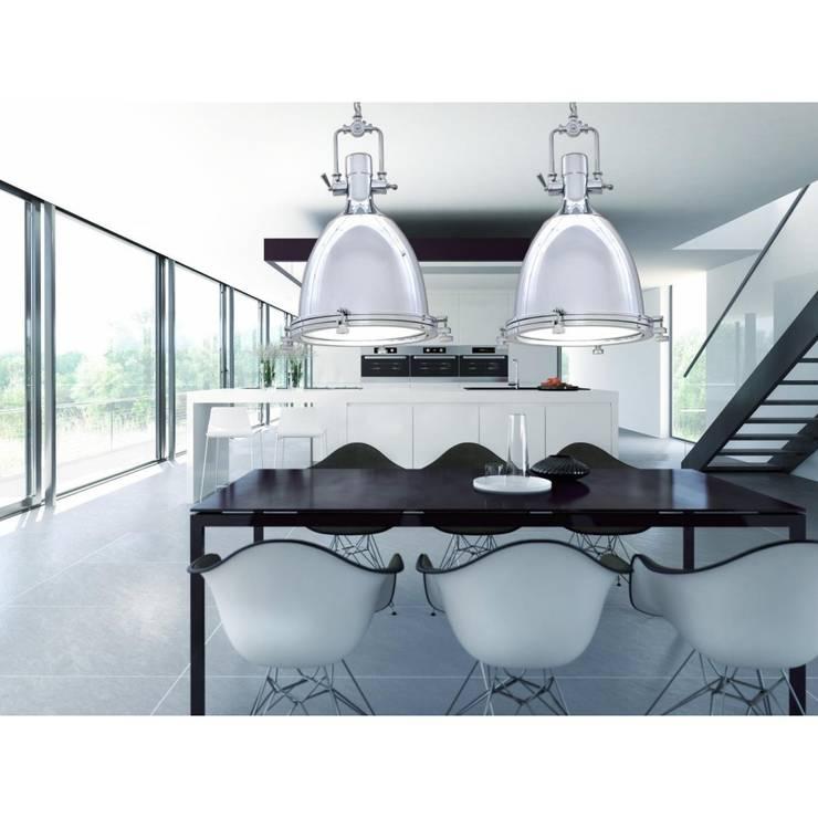 Lampa ALCANTARE: styl , w kategorii  zaprojektowany przez Lumina DECO,Industrialny Matal