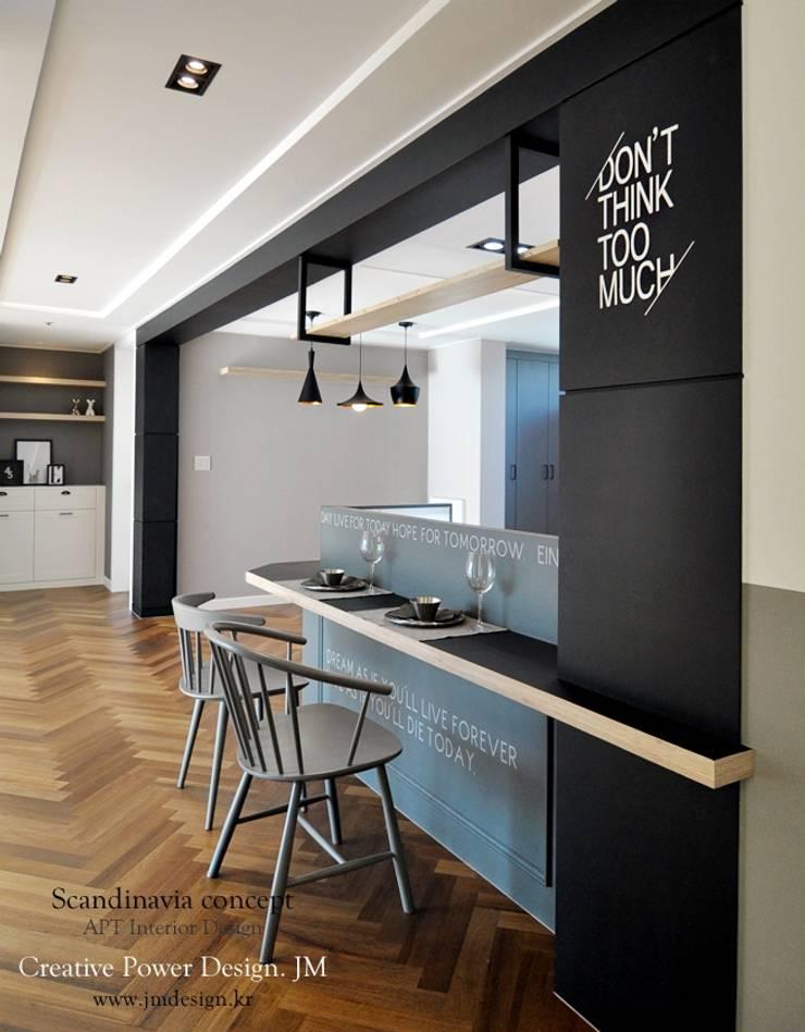 우만동 월드메르디앙 39평: JMdesign 의  욕실
