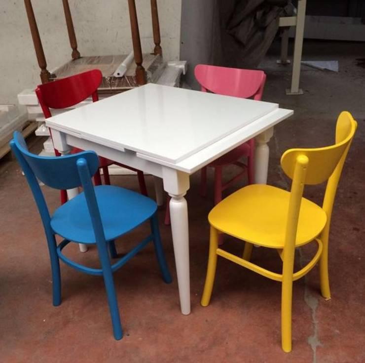 Ahşap Modası – Masa Takımı: modern tarz , Modern