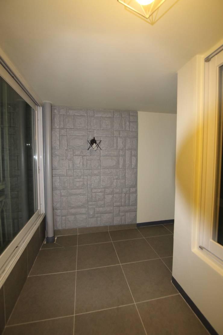 파주시 교하 월드메르디앙1차 39평 : GM interior의  거실