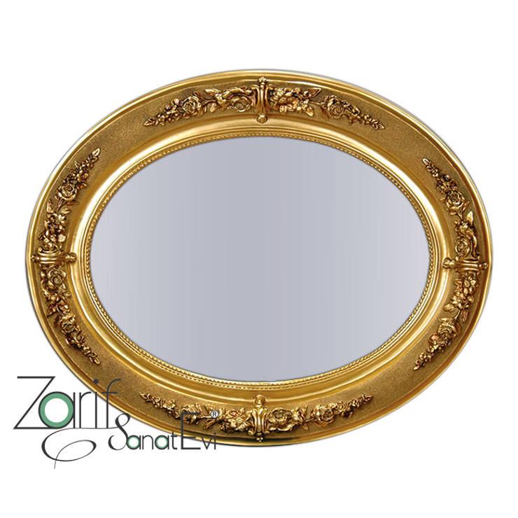 ZARİF SANAT EVİ - TABLO VE AYNALAR – Dekoratif ve Modern Aynalar, Varak Aynalar:  tarz , Klasik
