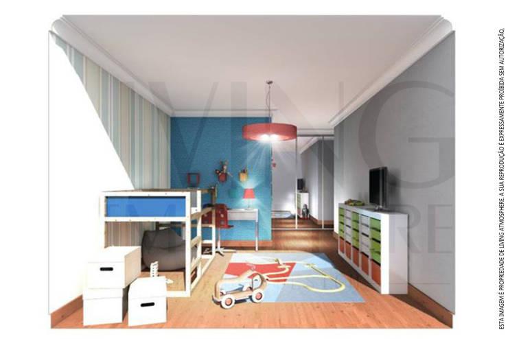 O quarto do João: Quartos de criança  por Living Atmosphere Kids