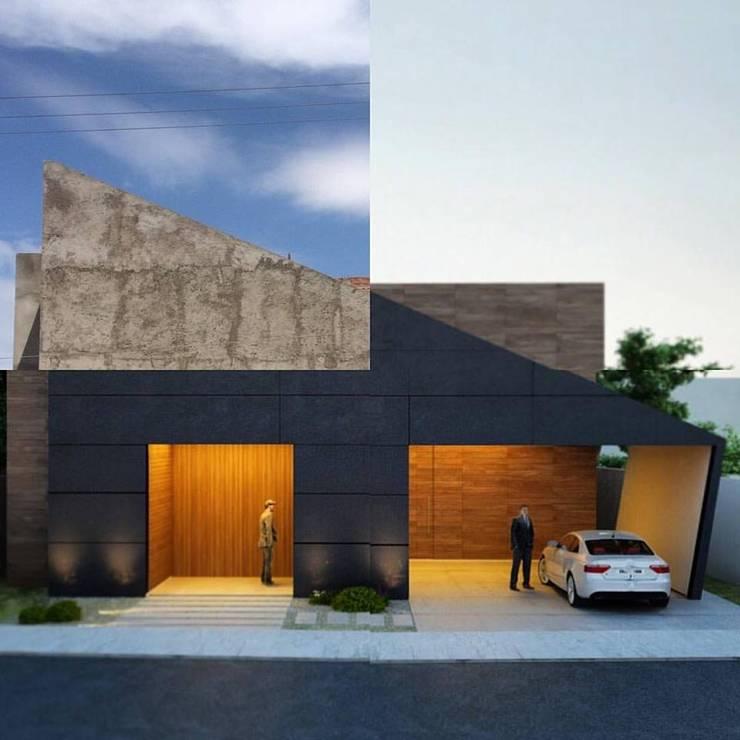 Gray Arquitectura: Casas de estilo  por GRAY Arquitectura & Forma