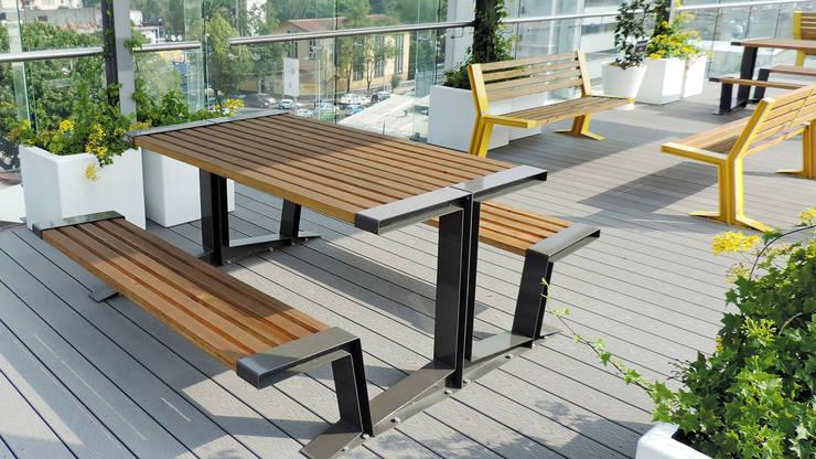 Mesa para picnic Querétaro: Jardín de estilo  por Diseño Neko