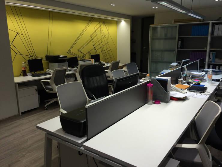 Corporativo PYDI: Estudios y oficinas de estilo  por ARCO Arquitectura Contemporánea