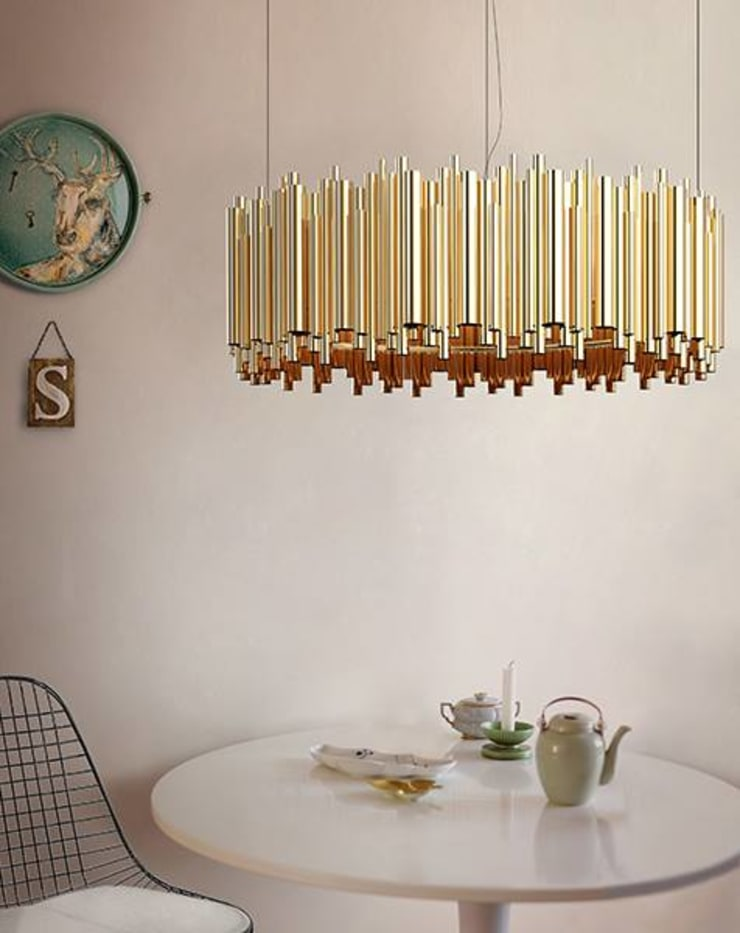DelightFULL lamps: Casa  por LUZZA by AIPI - Portuguese Lighting Association