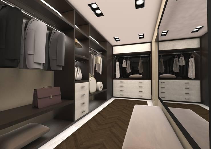 modern Dressing room by Luca Dini Design