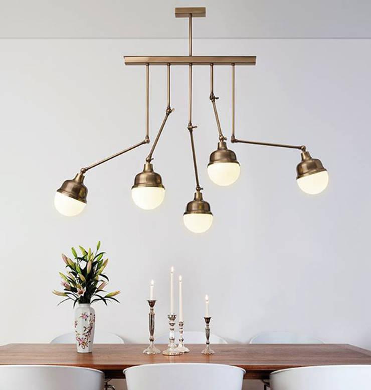 Ondalight lamps: Casa  por LUZZA by AIPI - Portuguese Lighting Association