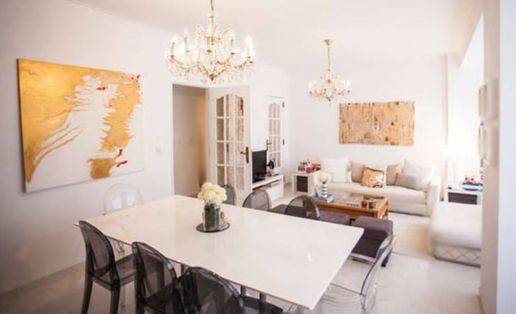Apartamento Av. Novas: Salas de estar  por  Rita Salgueiro - Full Ideas