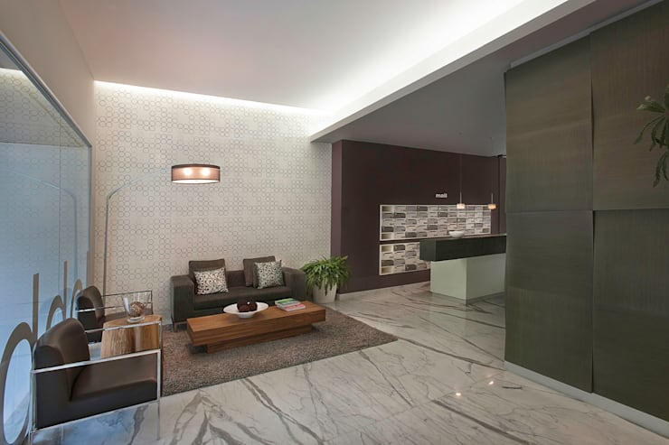 Living room by ARCO Arquitectura Contemporánea , Modern