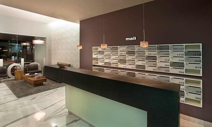 Salas de estilo  por ARCO Arquitectura Contemporánea