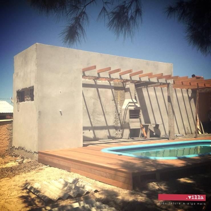Albercas de estilo moderno por .Villa arquitetura e algo mais