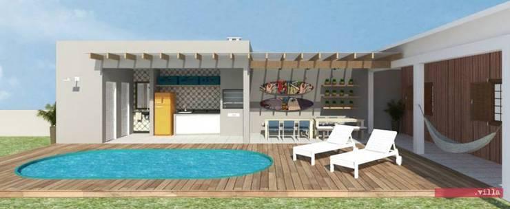 .Villa arquitetura e algo mais:  tarz Havuz