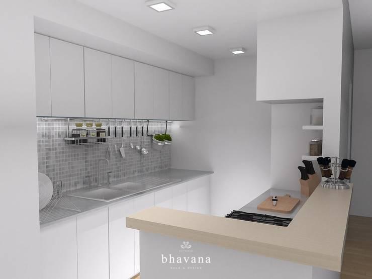 Cocinas de estilo  por Bhavana