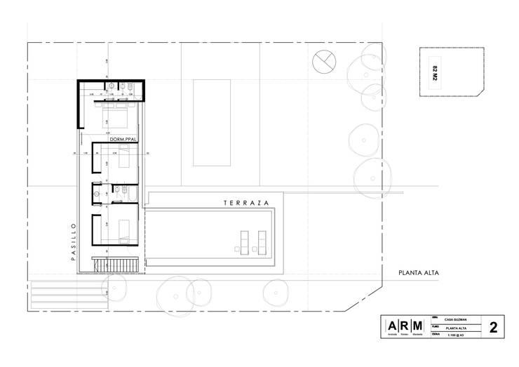 Planta Alta:  de estilo  por ARM Arquitectos