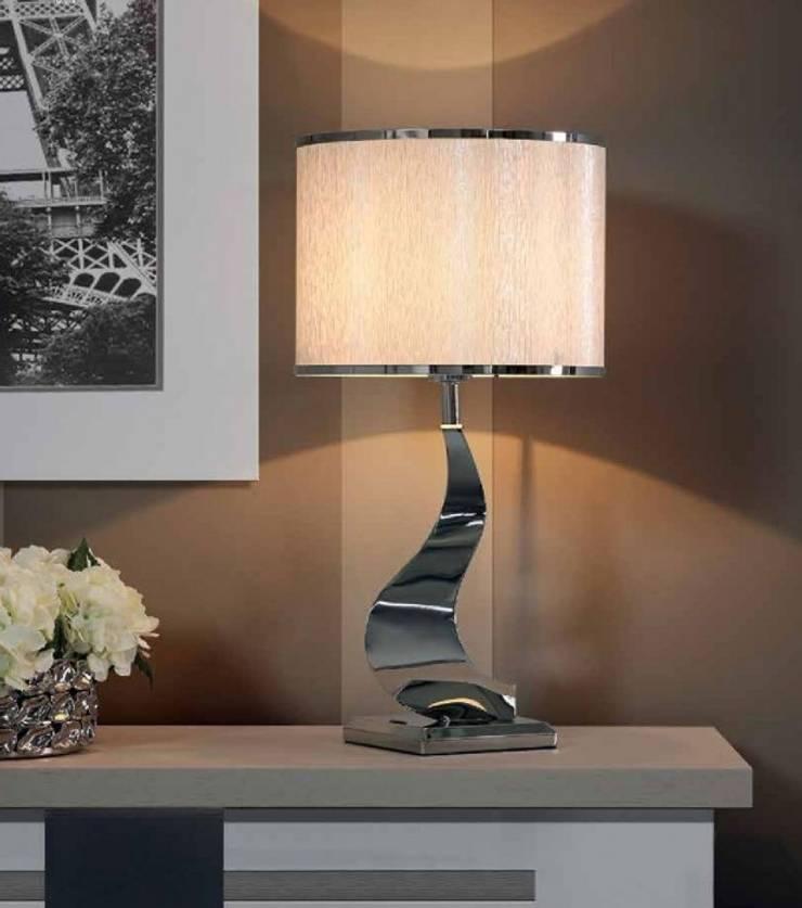 Candeeiros de mesa Table lamps www.intense-mobiliario.com  http://intense-mobiliario.com/product.php?id_product=9388: Casa  por Intense mobiliário e interiores;
