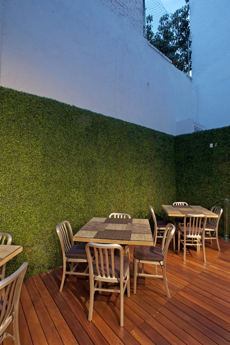 Terrace by ARCO Arquitectura Contemporánea