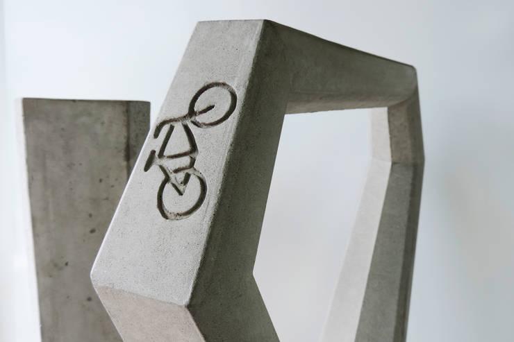 Aparcabicicletas Acapulco: Jardín de estilo  por Diseño Neko