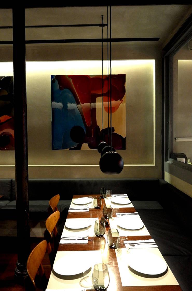 Restaurante BLEND: Espaços de restauração  por Pedro Ferro Alpalhão Arquitecto